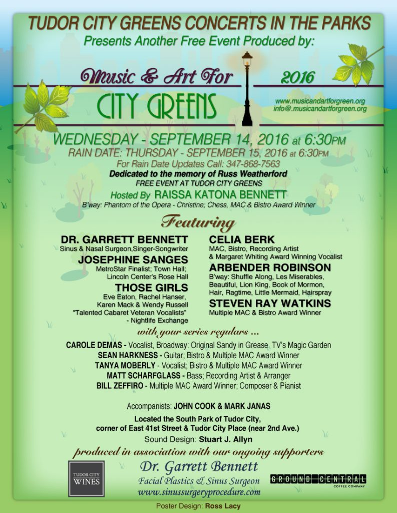 CityGreensConcert Sept2016