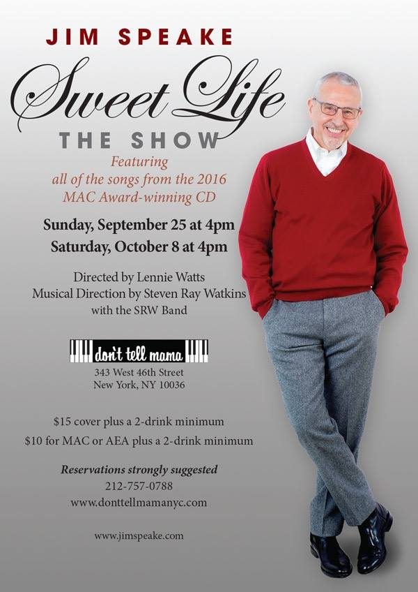 Jim Speake Sweet Life Show